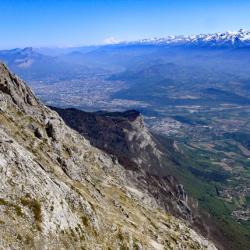 Grenoble et chaine de Belledonne