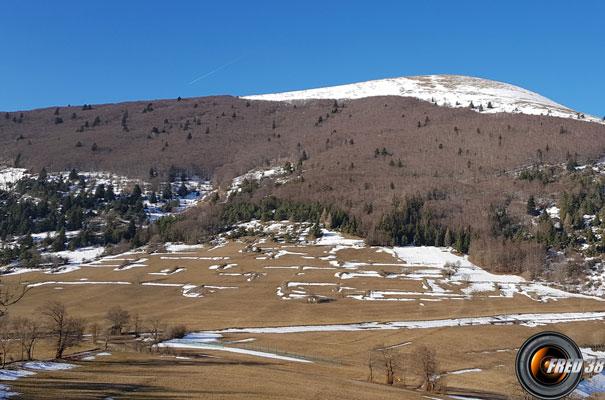 Col de l'Holme et le Chauvet.