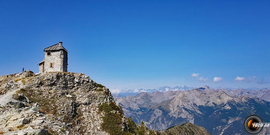 L'ancien poste optique du sommet.