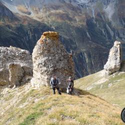 La zone de rochers ruiniformes.