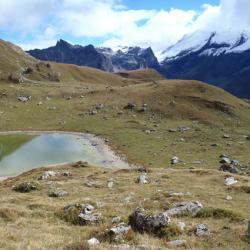 Le lac des Echines.