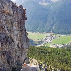 Vue sur Ceillac.