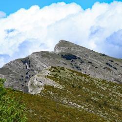 La crête et en fond le sommet de Couard.