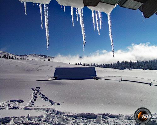 Chalet de l'Alpe.