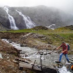 Traversée du Ruisseau du Doménon