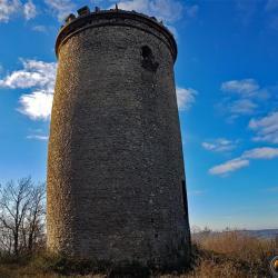 La tour de Mont Vert.