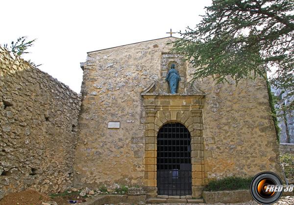 Le prieuré en travaux de réhabilitation jusqu'en 2018.