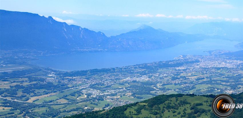 Le lac du Bourget.