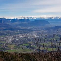 Vue sur Chambéry.