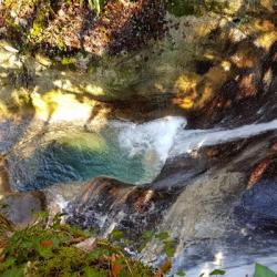 La deuxième cascade.