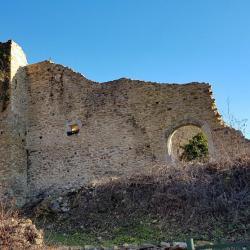 La ruine du château.