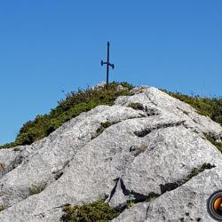 La petite croix prés du col de Cochette