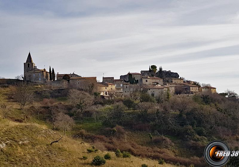 Le village de Gras.