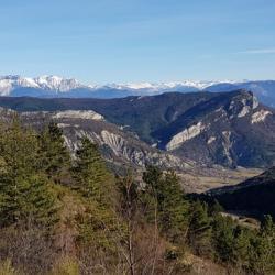 Le sommet vu de la Piarre.