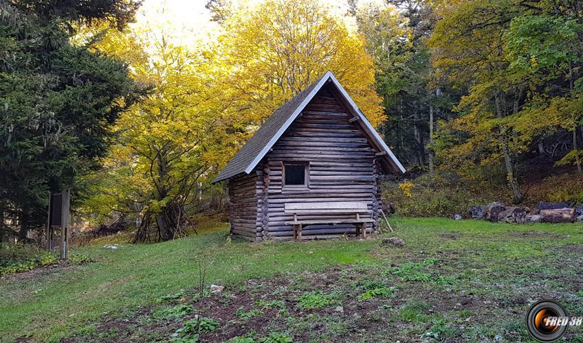 Cabane de Pré Pourri.