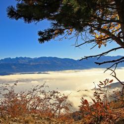 Vallée du Grésivaudan vue du Pas du Fourneau.