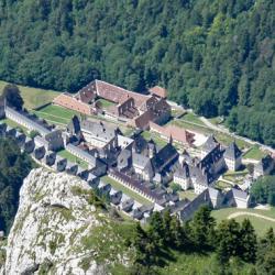 Vue sur le monastère.