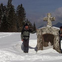 L'oratoire du col de la Charmette.