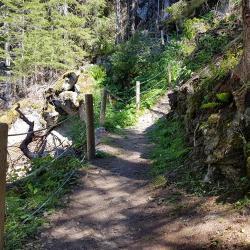 Avant la descente sur le Doron.