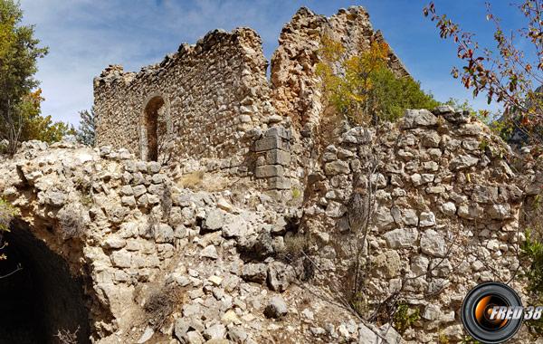 Ruines de la Chapelle Saint-André.
