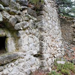 Ruines du hameau de Valbonnette.