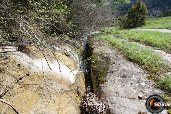 Ruisseau de la Grésière.