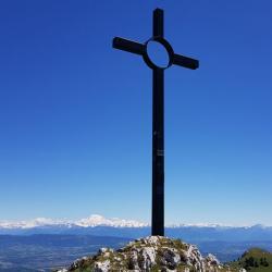 La croix du sommet,