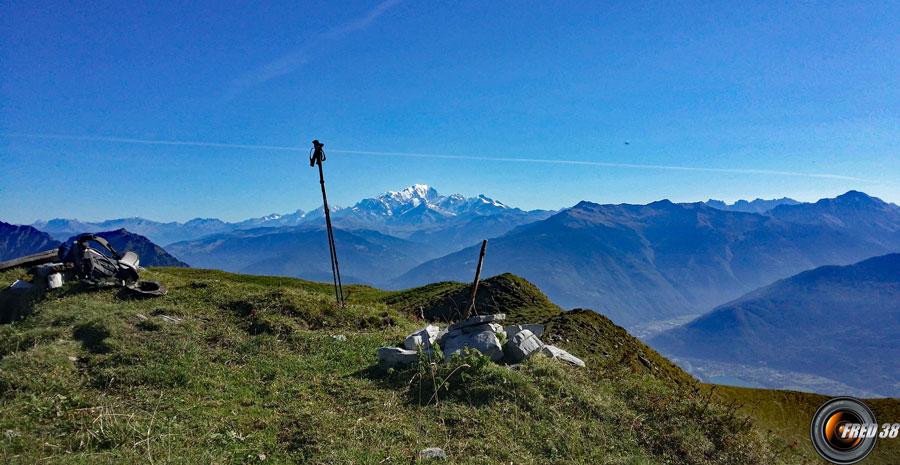 An fond le Mont-Blanc