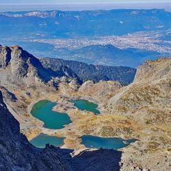 Les lacs Robert.