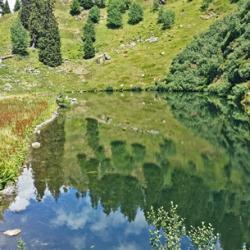 Lac des Cornaches.