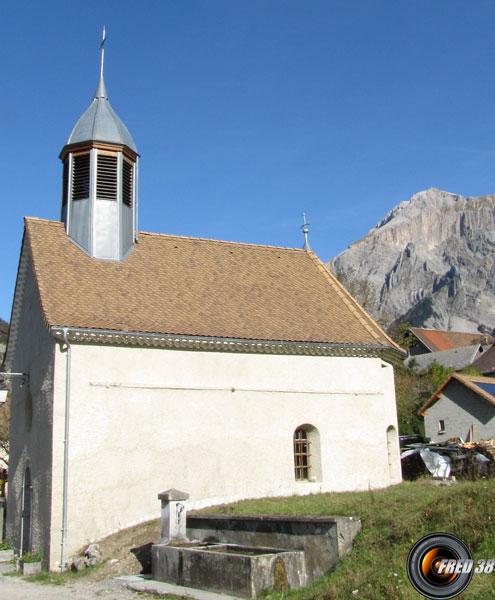 La chapelle au départ.