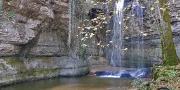Isere cascade et lac de la roche