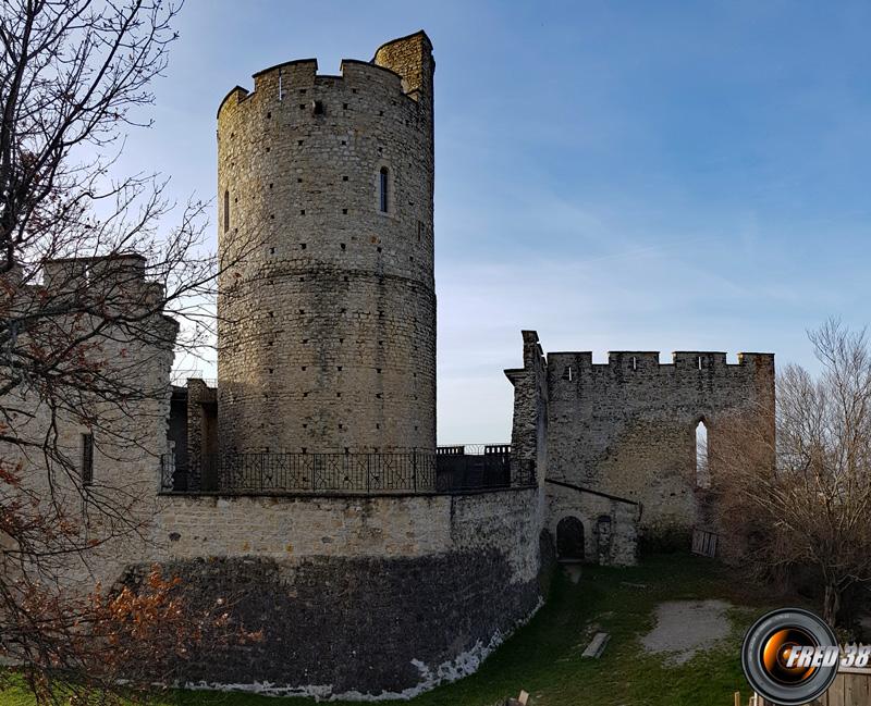 Isere chateau de fallavier photo