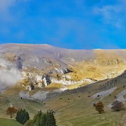 Le sommet vu de la bergerie de Lalley-Jocou.