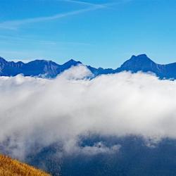 Le massif du Dévoluy.