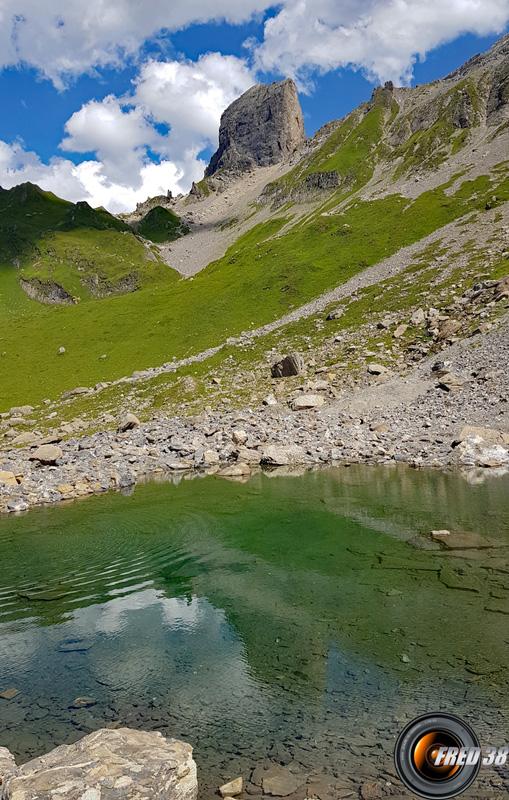 Le petit lac du haut,
