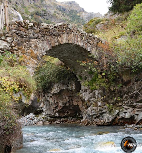 Pont sur le Vénéon.