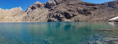 Lac des neuf couleurs photo