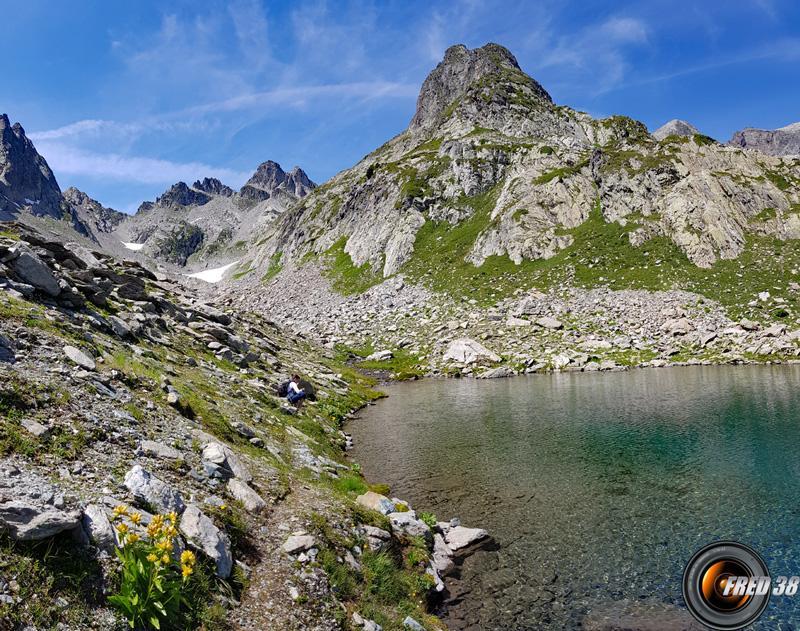 Lac et pointe de Bacheux.