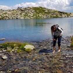 Torrent du Bacheux avant le lac.