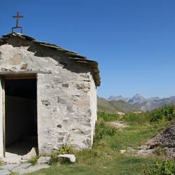 La petire chapelle du Lauzanier.
