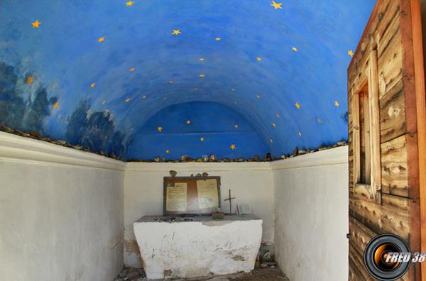 L'intérieur de la Chapelle.