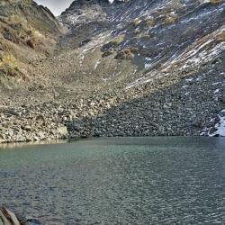 La combe vue du lac Blanc.