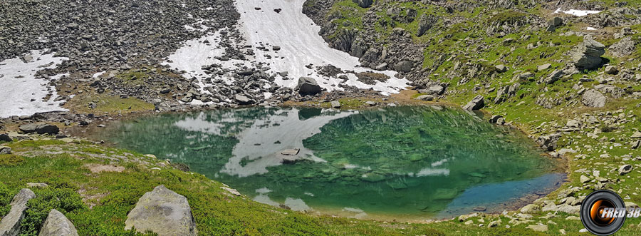 Le deuxième petit lac.