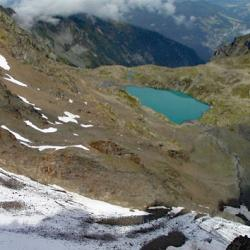 Le Grand Lac vu de la Croix.