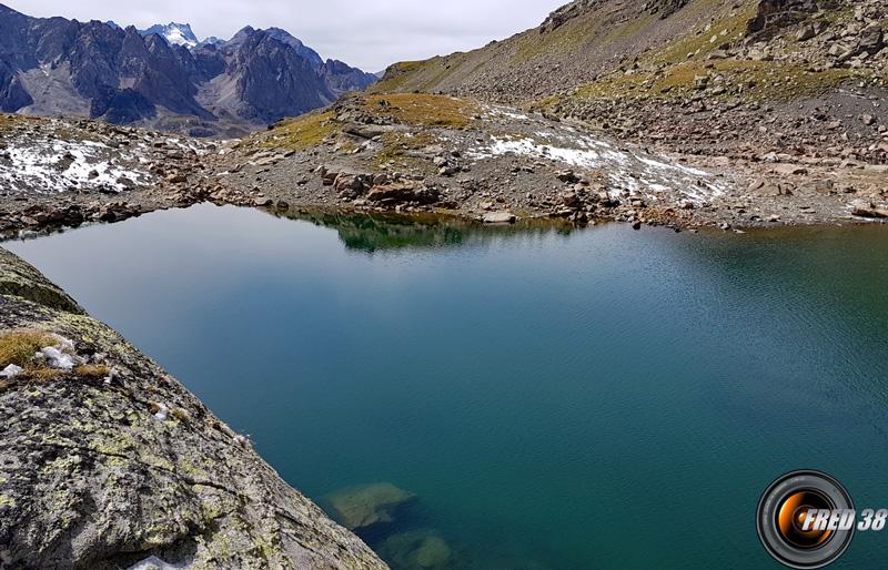 Lac de la Madeleine (haut).