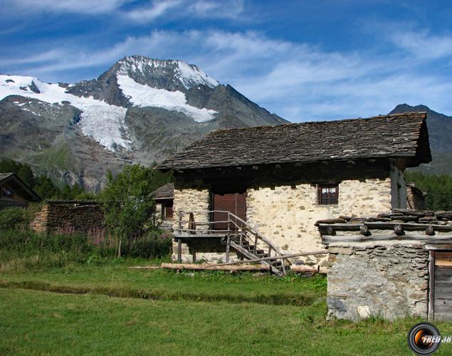 Le Monal et le Mont Pourri.