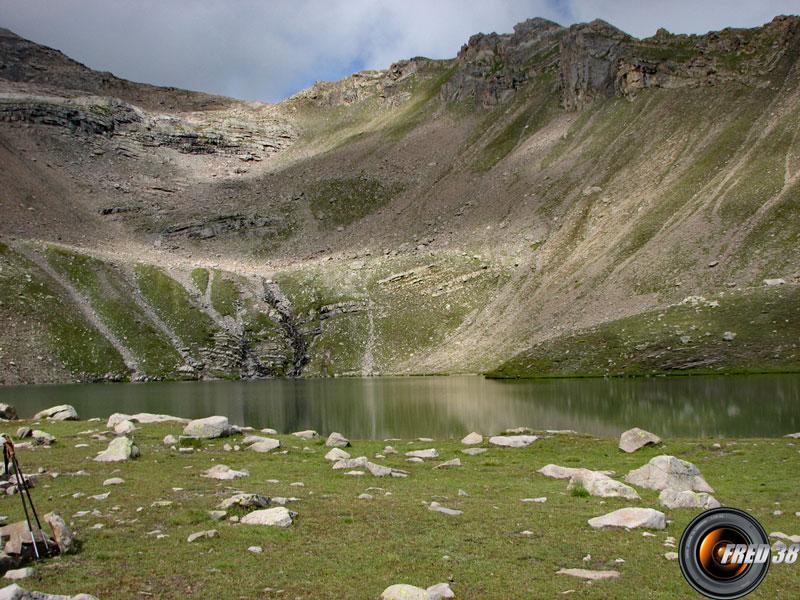 Le lac Palluel.