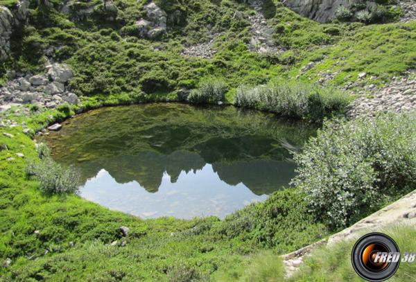 Le premier petit lac.