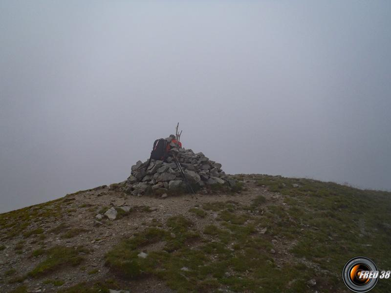 Le sommet.